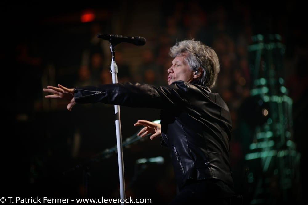 Bon Jovi concert } Quicken Loans Arena | Cleveland 03.19.17