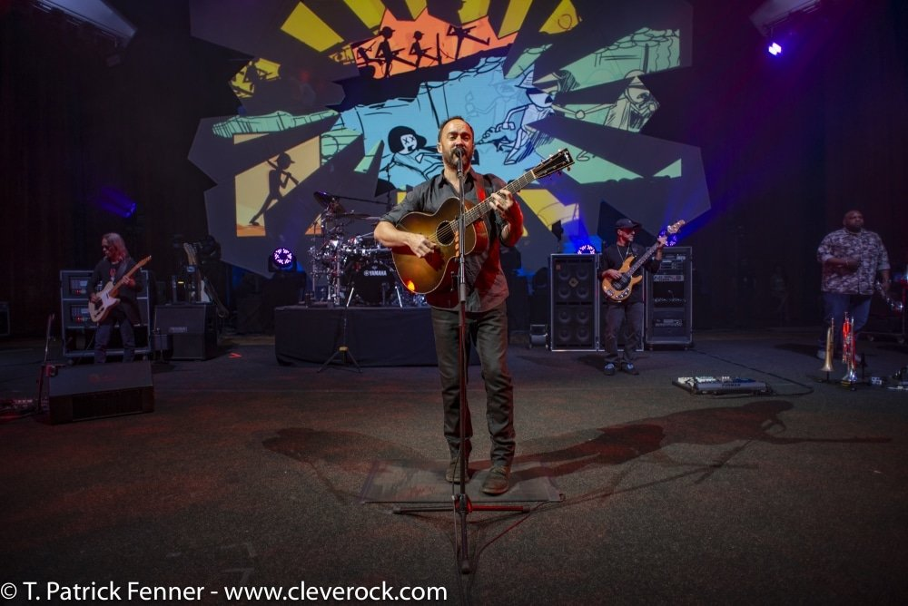 dave matthews band concert review blossom ohio