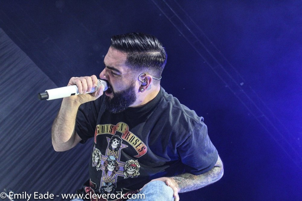 a day to remember concert photos cleveland